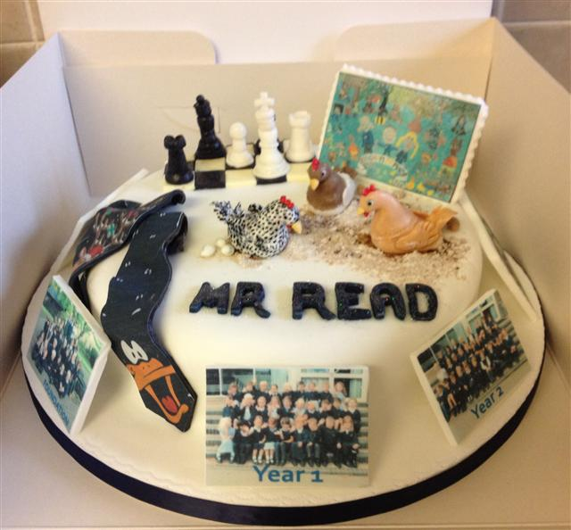 Personalised Leaving Cake
