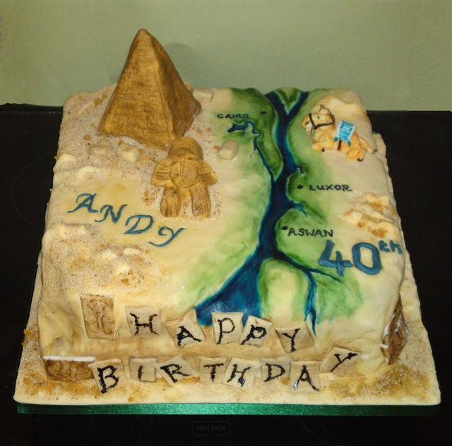 Egypt Birthday Cakes http://www.personalisedcakes.com/Pages/MoreBirthdayCakes.aspx
