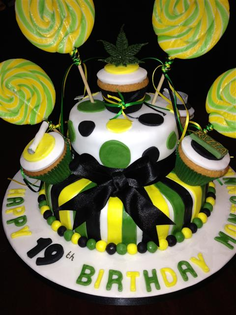 Jamaican Themed Cake More birthday cakes