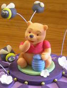 Pooh Bear and Bees